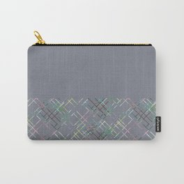 Gray combined pattern. Carry-All Pouch