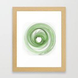 Valentine's Fractal V - Light Framed Art Print