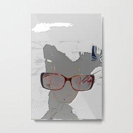 series drink - Sketch drink Metal Print