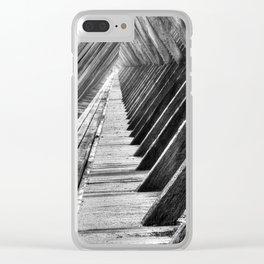 Graduation tower Clear iPhone Case