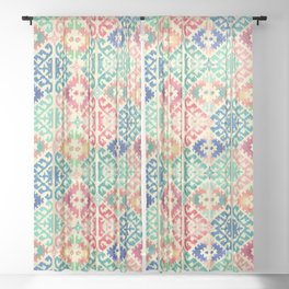 Kilim 2 Sheer Curtain