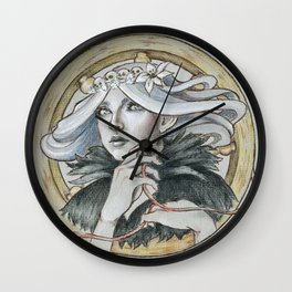 Vaire The Weaver Wall Clock