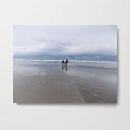Beachy Days... Metal Print