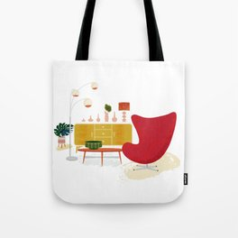 My Living Room Tote Bag
