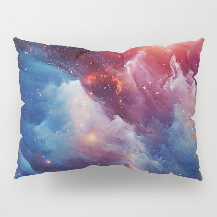 Misterious Space Pillow Sham