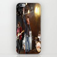 arctic monkeys iPhone & iPod Skins featuring Arctic Monkeys in Williamsburg, New York by The Electric Blve / YenHsiang Liang