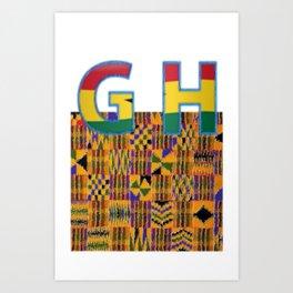 Ghana Pride Art Print
