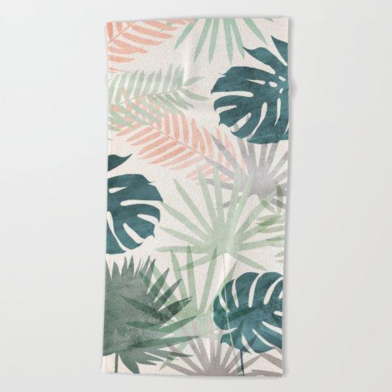 Tropicalia Beach Towel