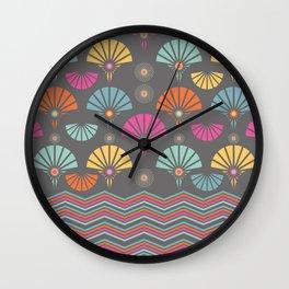 Moonlit moment Wall Clock