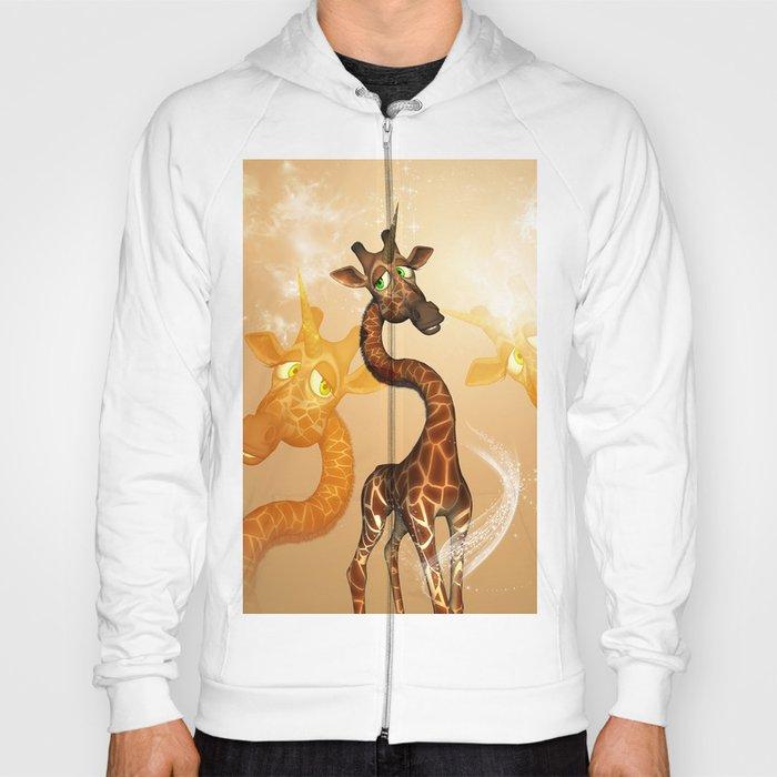 The unicorn Giraffe Hoody