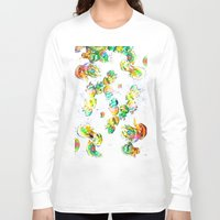 rasta Long Sleeve T-shirts featuring Rasta Jellies by Heidi Fairwood