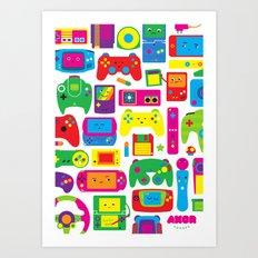 AXOR Heroes - Love For Games Art Print