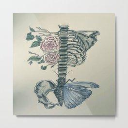 Skeleton Metal Print