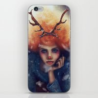 helen iPhone & iPod Skins featuring Helen by Joan Culum