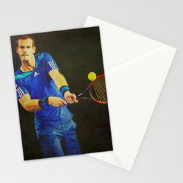 Murray Tennis Stationery Cards
