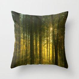 More Autumn Trees Throw Pillow