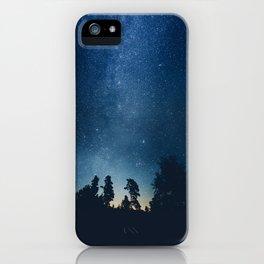 Follow the stars iPhone Case