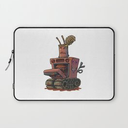 Robot pie thrower Laptop Sleeve