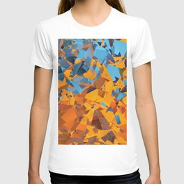 Cubism Abstract 183 T-shirt