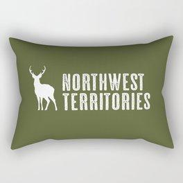 Deer: Northwest Territories, Canada Rectangular Pillow