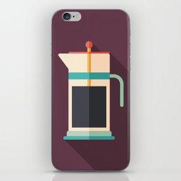 French Press Coffee iPhone Skin
