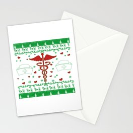 NURSE CHRISTMAS Stationery Cards