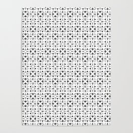 Arrows Pattern Bright Poster