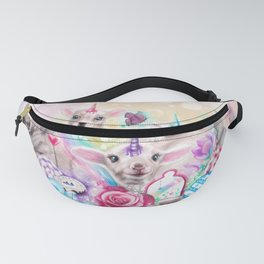 We All Just Want to be Unicorns Fanny Pack