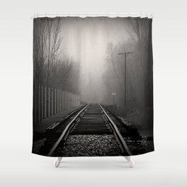 touched by fog Shower Curtain
