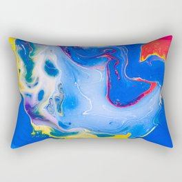 play of color Rectangular Pillow