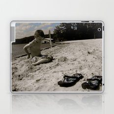 Dylan White Laptop & iPad Skin