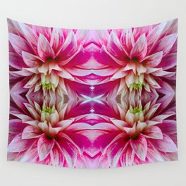 143 - Abstract flowers Wall Tapestry