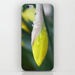 Closed Flower iPhone Skin