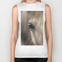 Horse look Biker Tank