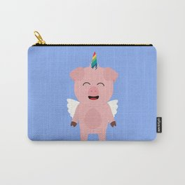 Pig with Unicorn Horn Bsopc Carry-All Pouch