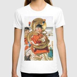 12,000pixel-500dpi - Joseph Christian Leyendecker - Brass Band - Digital Remastered Edition T-shirt