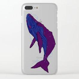 Cetacea Clear iPhone Case