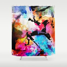 Run away Shower Curtain