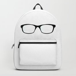 Pair Of Optical Glasses Backpack