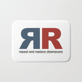 Repeal And Replace Obamacare Bath Mat