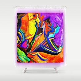 Untitled work by Jennifer Henderson Shower Curtain