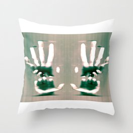 Grasps Throw Pillow
