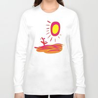 desert Long Sleeve T-shirts featuring Desert by salamandra7