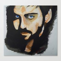 hook Canvas Prints featuring Hook by Brittany Ketcham