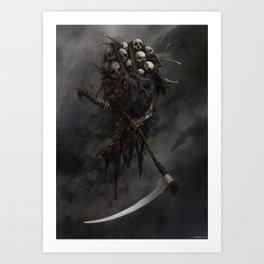 Skeleton of Society Art Print