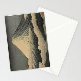 Shotei Takahashi Four Seasons of Mount Fuji Near Omuro Kawase Hasui Japanese Woodblock Print Stationery Cards