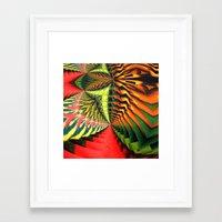 brasil Framed Art Prints featuring Brasil by Lyle Hatch