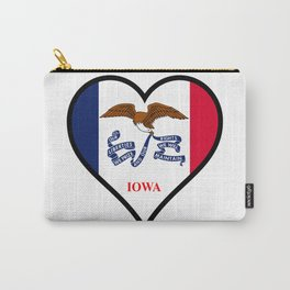 Love Iowa Carry-All Pouch