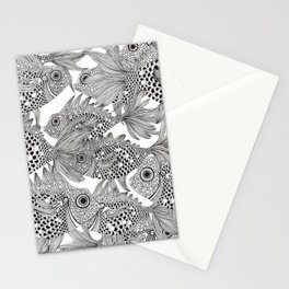Fish School II Stationery Cards