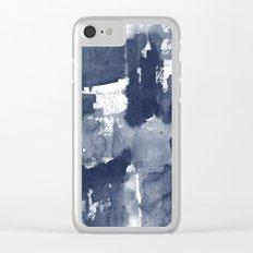 Indigo 2 Clear iPhone Case
